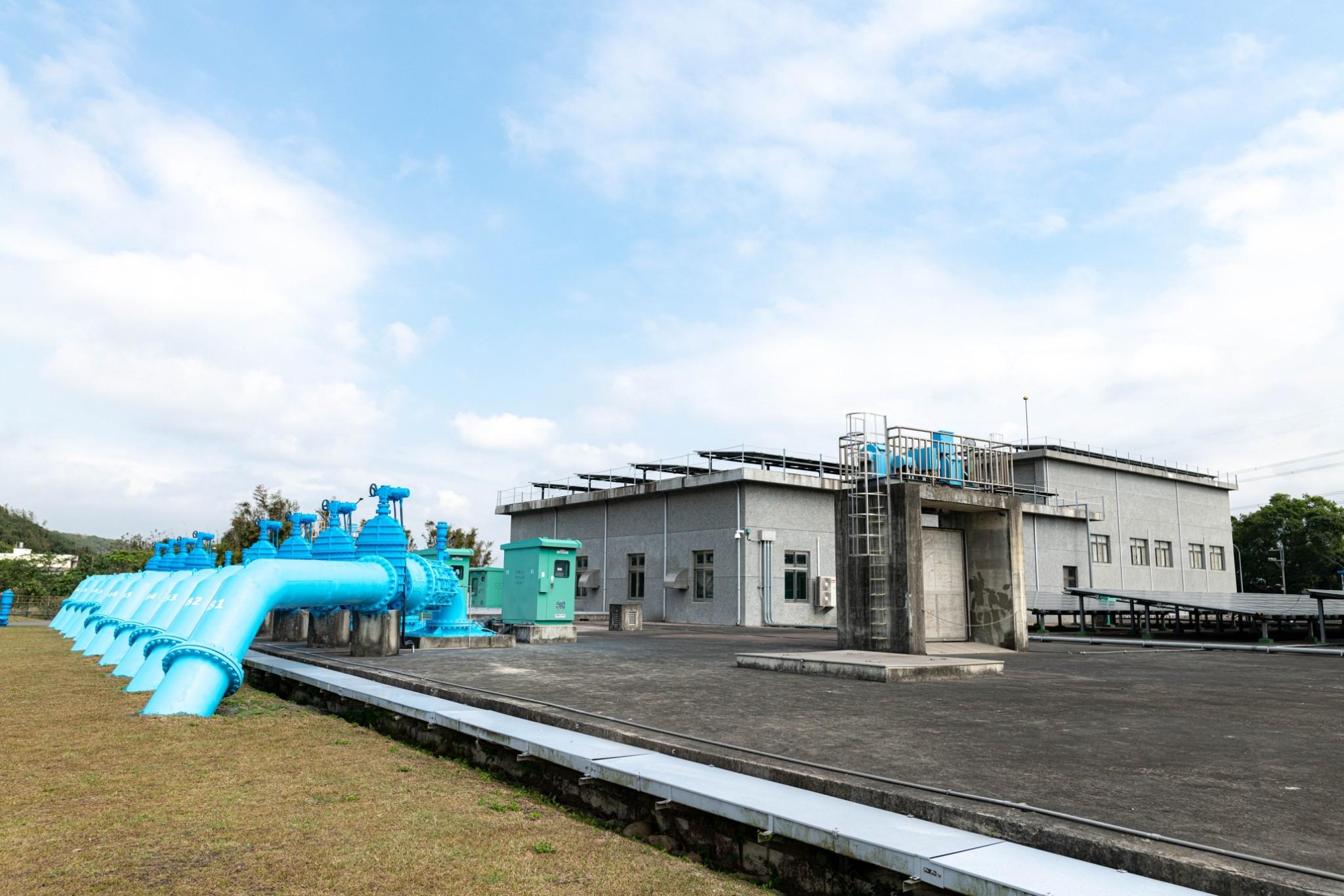 鄭市長視察頂山腳加壓站,北水南調提升桃園地區供水能力