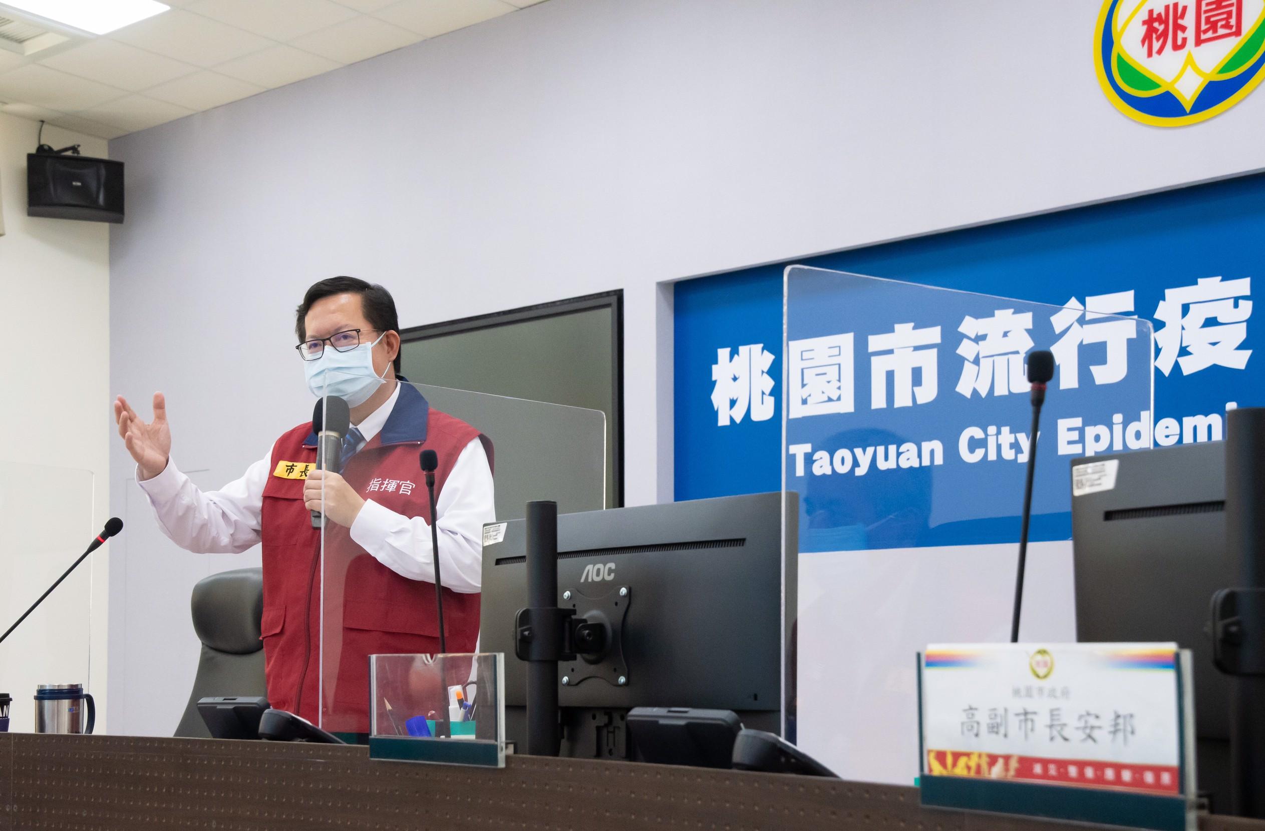 桃市首日高齡接種施打率62%,市府修正動線改善流