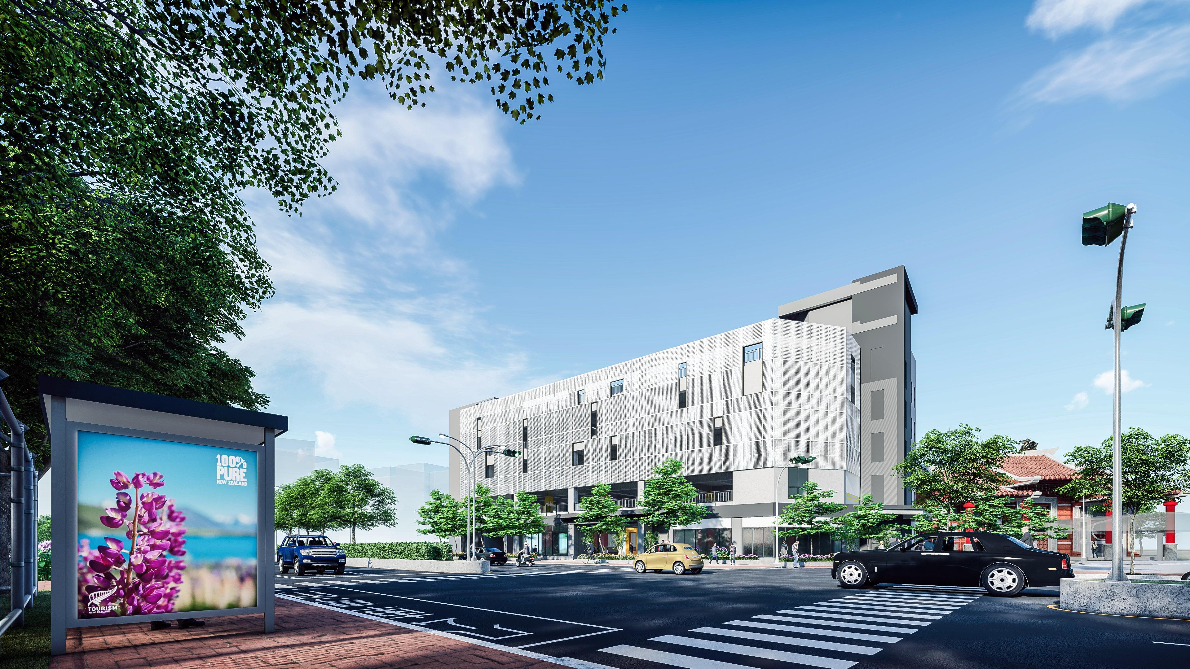 「龜山區停18立體停車場新建工程」預計今年底完工,滿足長庚醫院、龜山大坪頂地區停車需求