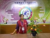 志工隊姜隊長104年10月提供本所綠美化插花作品