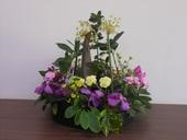 志工隊姜隊長104年11月提供本所綠美化插花作品