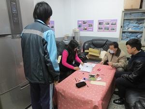 到大溪國中集中受理初領國民身分證申請作業。