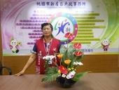 志工隊姜隊長105年8月提供本所綠美化插花作品