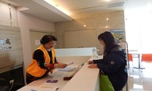 勞動檢查處志工受理民眾諮詢服務