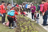 民眾會場植樹