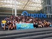 106.9.13青年事務局帶領元智大學82名學生參訪廣達電腦公司。