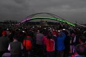 永安觀海橋點燈夜景成為打卡景點(2)