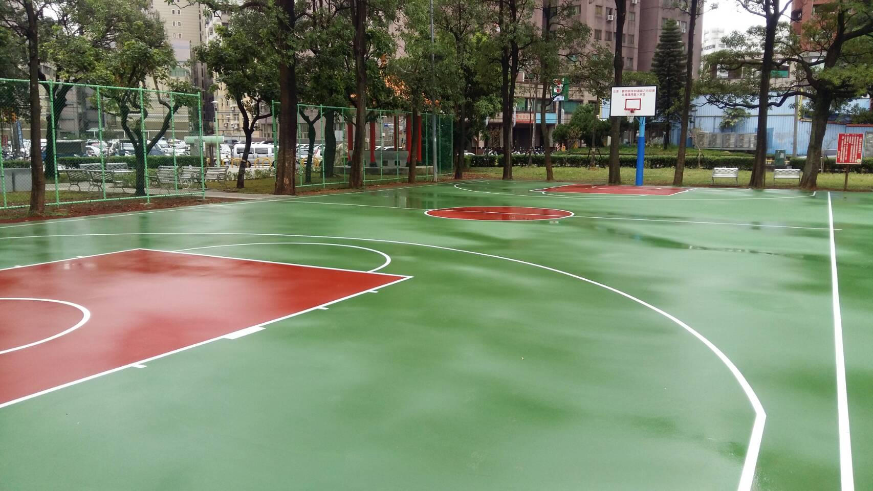 籃球場改善