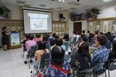 桃園市各戶政事務所聯合教育訓練「身心調適和為民服務」 學員專心聆聽