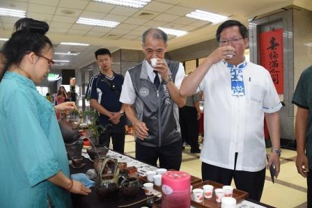 107年全國第八屆優質東方美人茶評鑑比賽頒獎典禮暨展售會