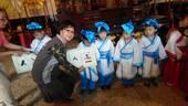 107年10月7日台灣傳統文化促進協會於桃園孔廟舉辦開筆禮