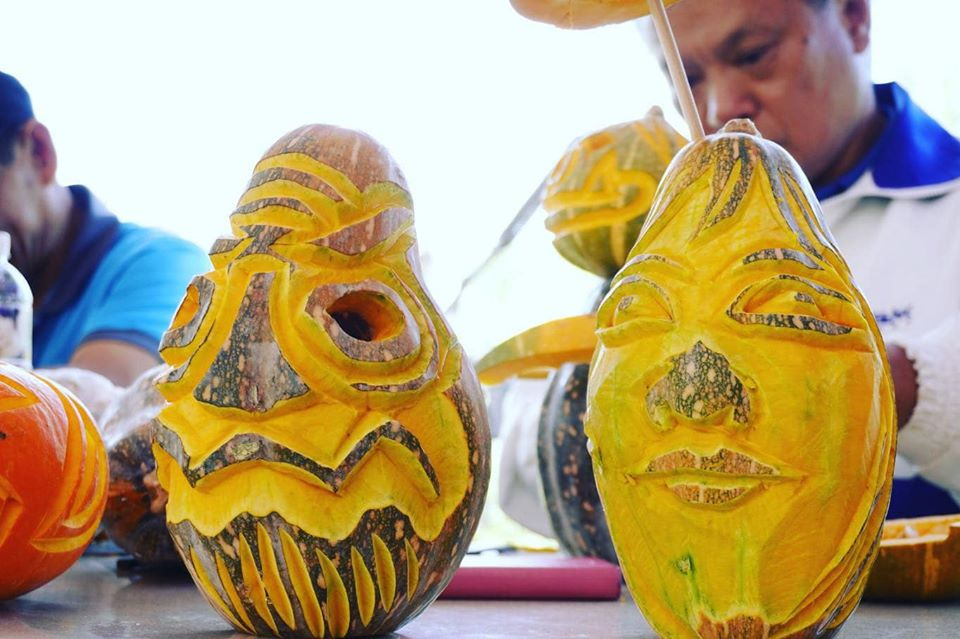 1081020-觀音區-南瓜雕刻大賽