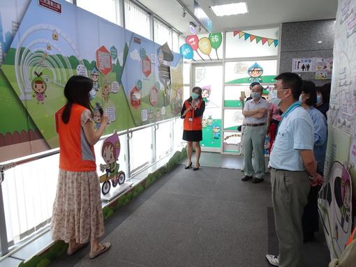 臺北市中山、松山、大安地政事務所蒞臨參訪