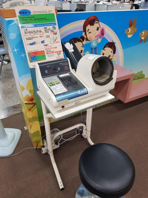 血壓計 歡迎民眾來試用