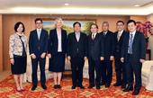 Representative Catherine Elizabeth Nettleton of The British Office Taipei visited Taoyuan City Mayor Cheng Wen-Tsan.