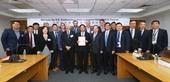 Delegates of Southwestern United States City Council leaders visited Taoyuan City Mayor Cheng Wen-Tsan.
