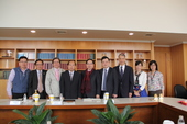 Tuan Jin-bao, the Deputy Prime Minister of Đồng Tháp Province in Vietnam visited Taoyuan City Government.