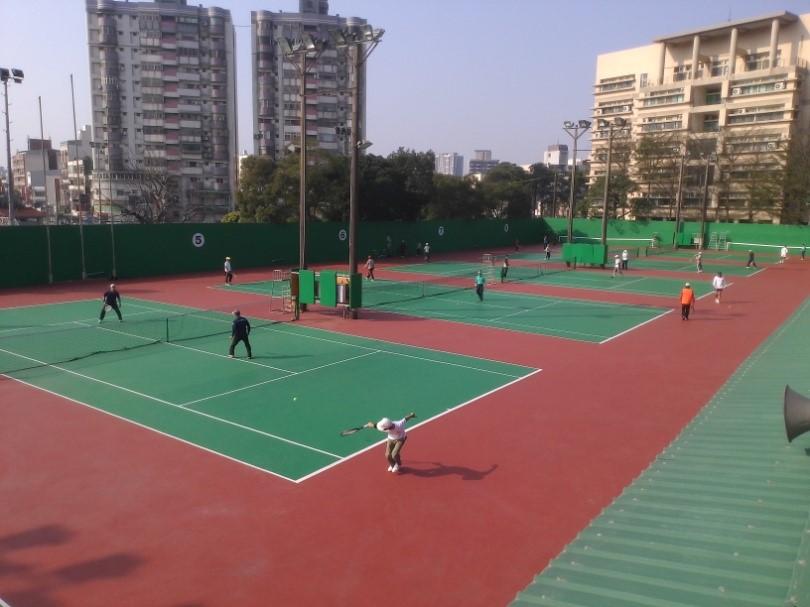 Zhongli Tennis Court