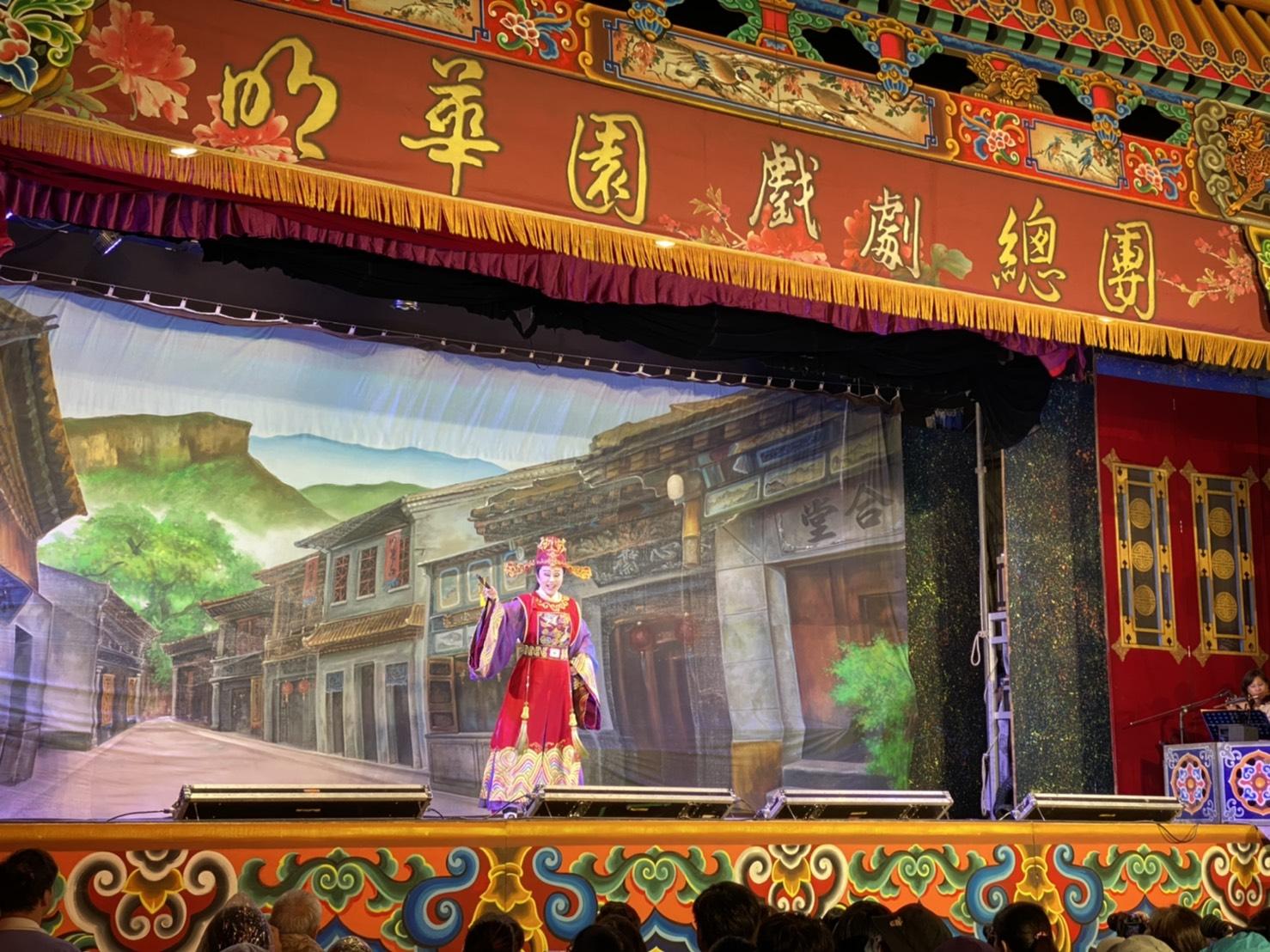 明華園演員演技皆十分精湛。