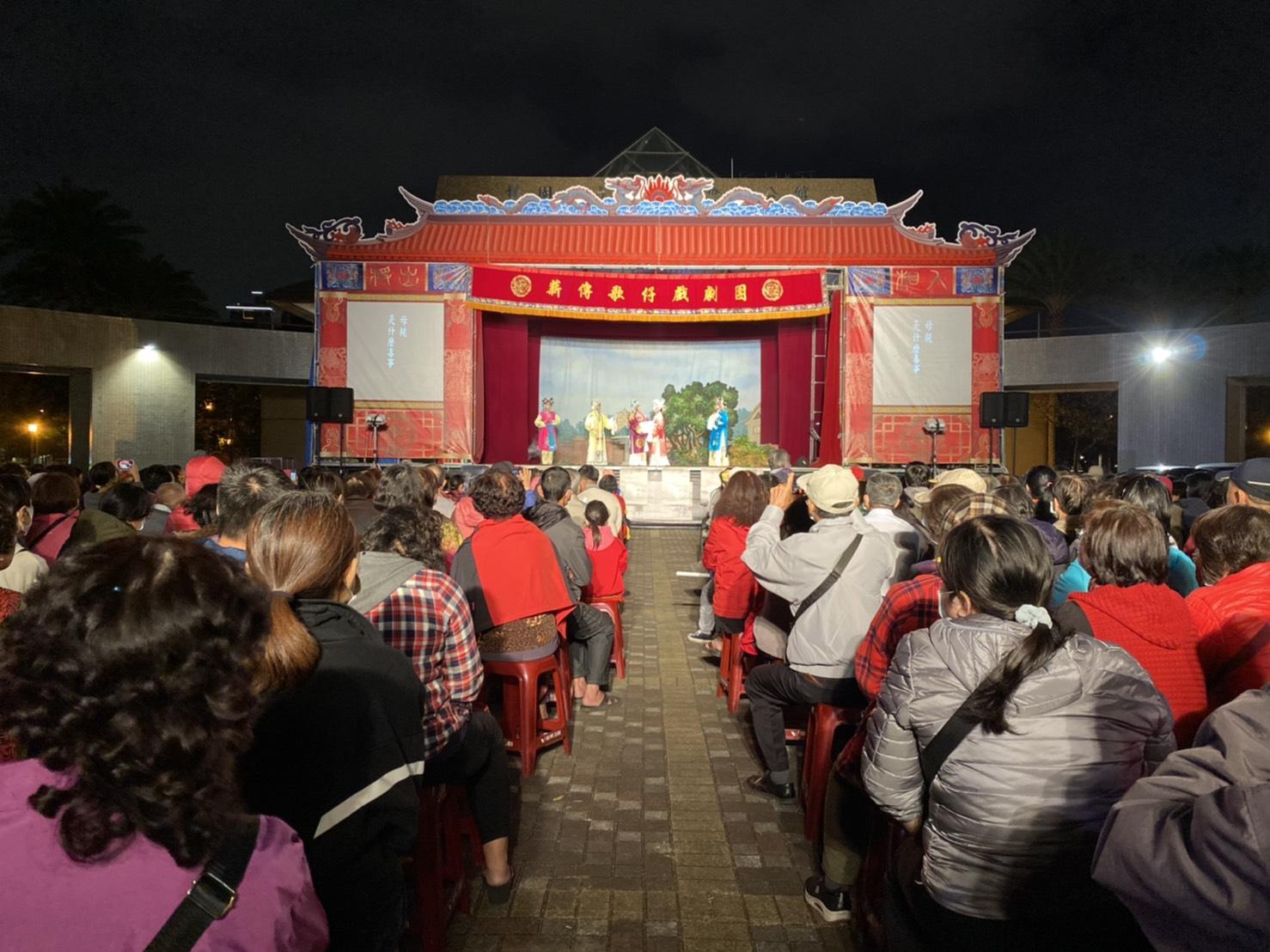 市府團隊致力於推廣文化藝術展演,讓藝術走入民眾生活。