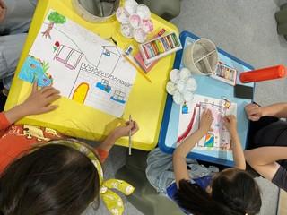 透過藝術創作,訓練兒童感官,培養觀察力與美感。