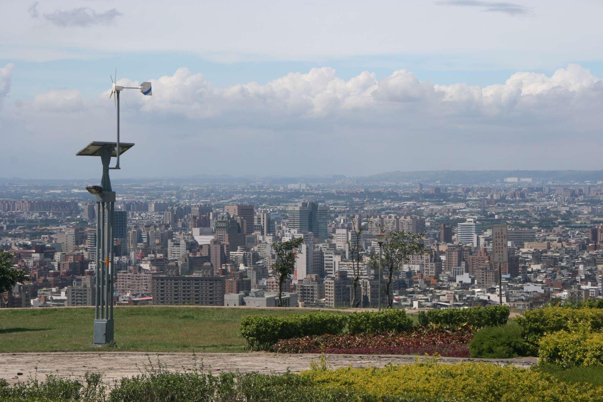 虎頭山環保公園遠眺