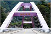 淡紫色巴陵拱橋