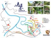 小烏來風景特定區園區導覽圖
