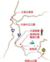 慈湖地區導覽圖