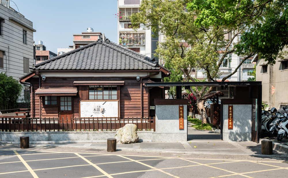 藝師館庭院正門
