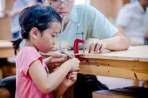 認識木藝,從小開始