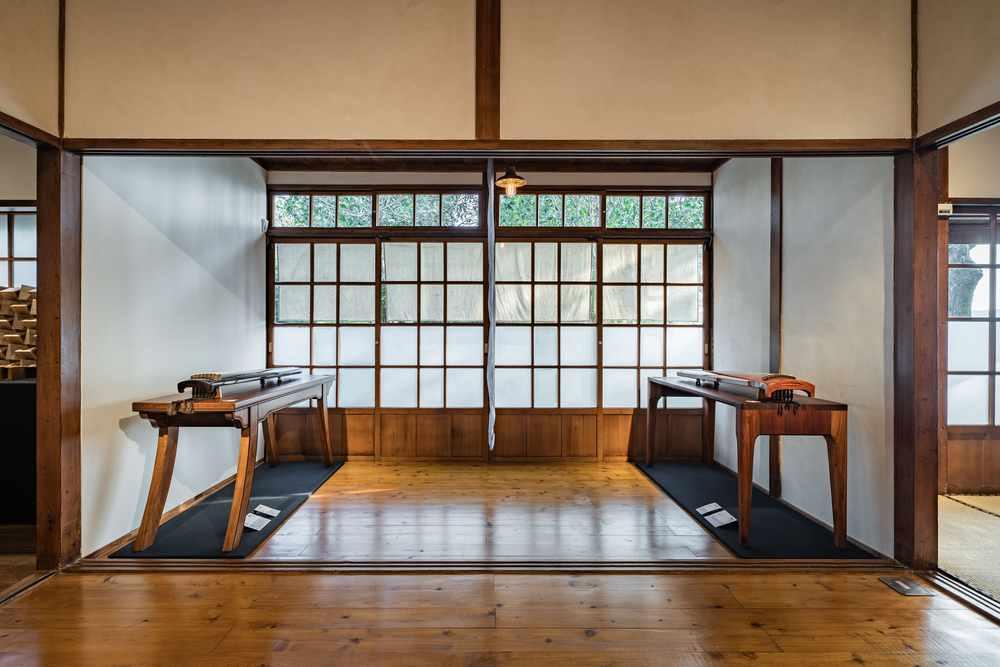 大溪琴桌創作展 明亮的展示空間