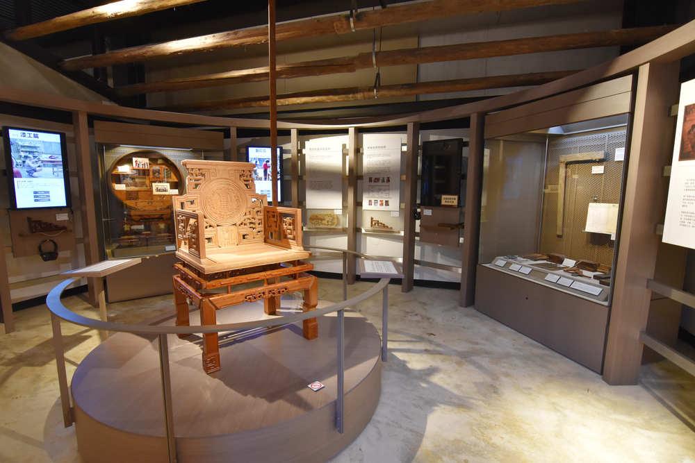 木藝工法展示