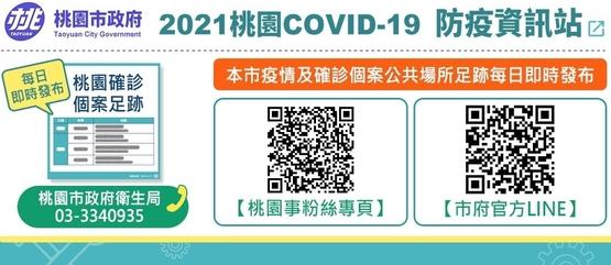 2021桃園COVID-19 防疫資訊站
