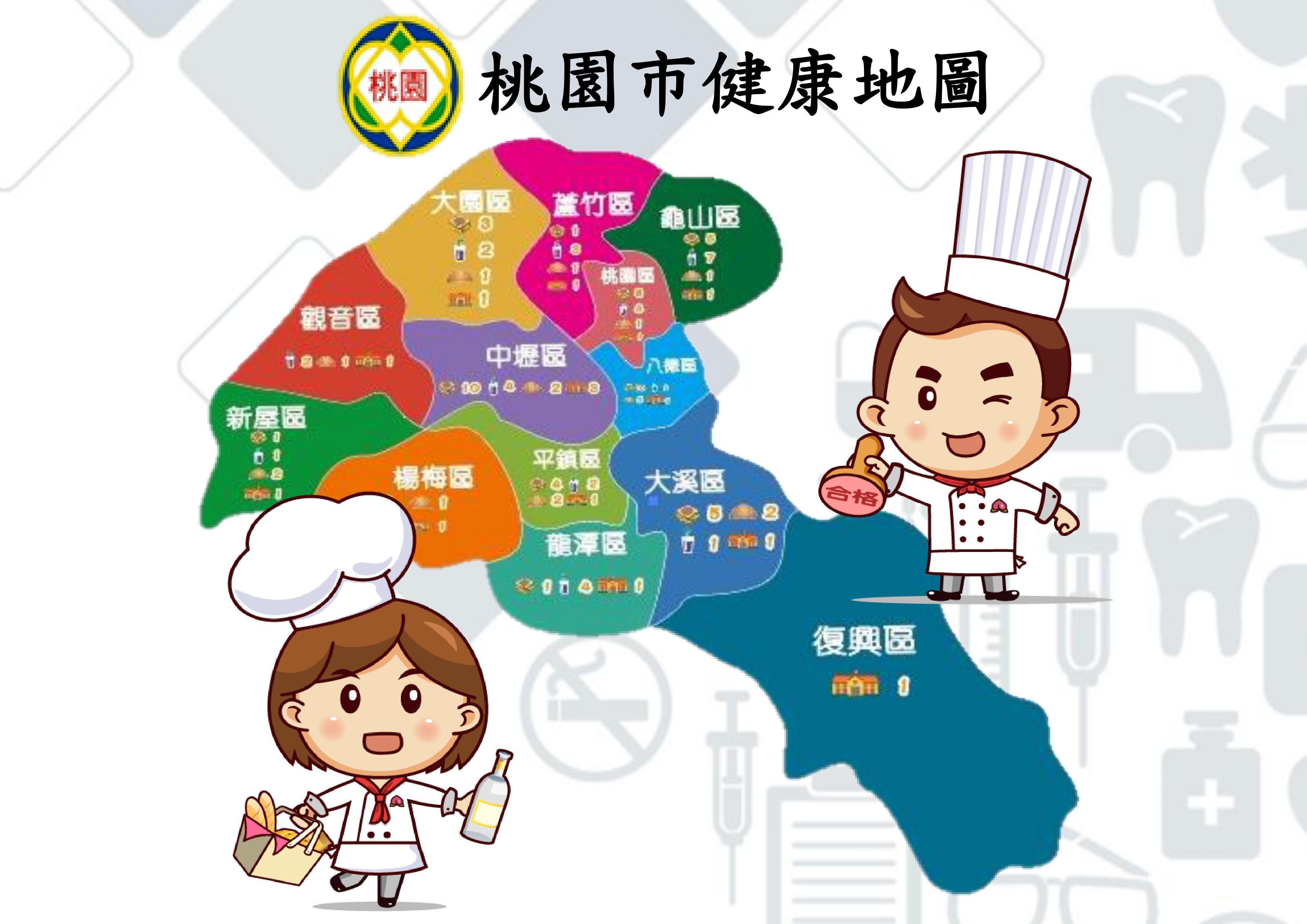 桃園市健康地圖