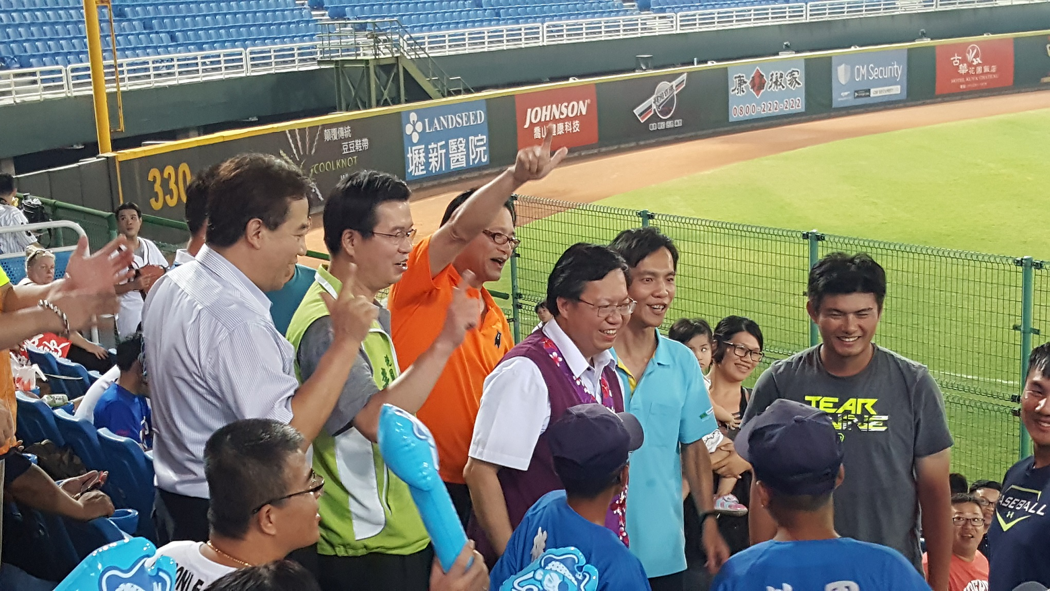 2016公益看職棒-青年我最棒 邀偏遠地區孩童看球